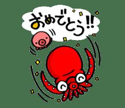 Octopus TAKOTAKO2 sticker #5226668