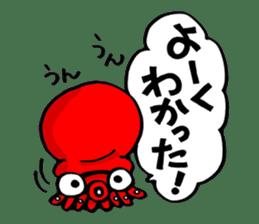 Octopus TAKOTAKO2 sticker #5226671