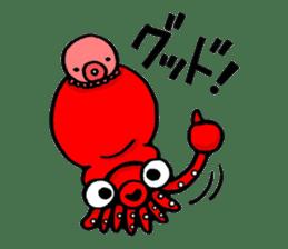 Octopus TAKOTAKO2 sticker #5226672