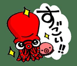 Octopus TAKOTAKO2 sticker #5226675