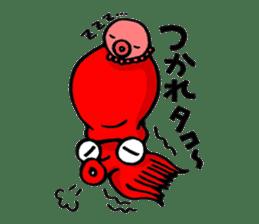 Octopus TAKOTAKO2 sticker #5226677