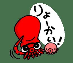 Octopus TAKOTAKO2 sticker #5226678