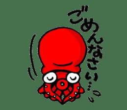 Octopus TAKOTAKO2 sticker #5226680