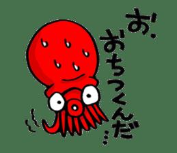 Octopus TAKOTAKO2 sticker #5226681