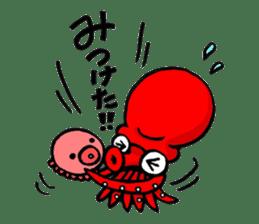 Octopus TAKOTAKO2 sticker #5226683