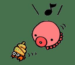 Octopus TAKOTAKO2 sticker #5226685