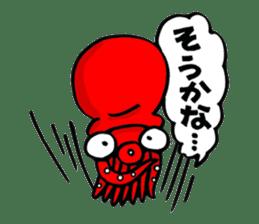 Octopus TAKOTAKO2 sticker #5226694