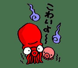 Octopus TAKOTAKO2 sticker #5226695