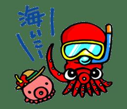 Octopus TAKOTAKO2 sticker #5226702