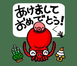 Octopus TAKOTAKO2 sticker #5226705