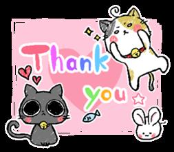 Sticker of a cute cat sticker #5228148