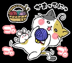 Sticker of a cute cat sticker #5228167