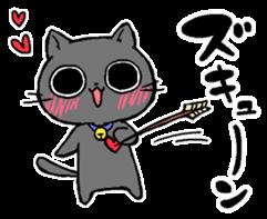 Sticker of a cute cat sticker #5228170