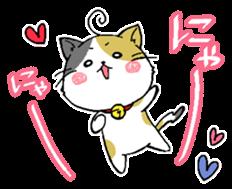 Sticker of a cute cat sticker #5228171