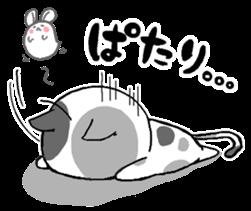 Sticker of a cute cat sticker #5228173