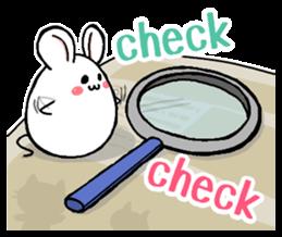 Sticker of a cute cat sticker #5228179