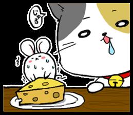 Sticker of a cute cat sticker #5228182