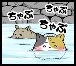 Sticker of a cute cat sticker #5228183