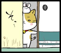 Sticker of a cute cat sticker #5228184