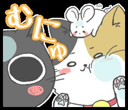 Sticker of a cute cat sticker #5228187