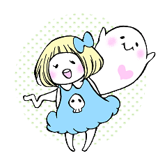 uiko with ghosts.