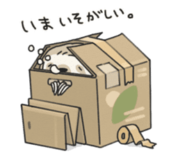 lazy sloth sticker #5253796