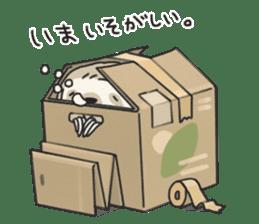 lazy sloth sticker #5253796
