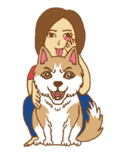 O loves cats & dogs sticker #5254267