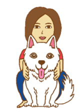 O loves cats & dogs sticker #5254279