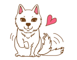 O loves cats & dogs sticker #5254299
