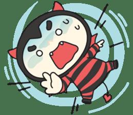 Cute Angel N Devil sticker #5254668
