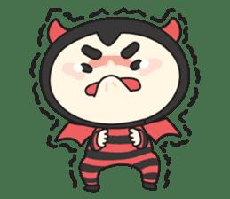 Cute Angel N Devil sticker #5254671
