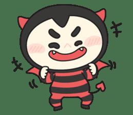 Cute Angel N Devil sticker #5254674