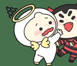 Cute Angel N Devil sticker #5254676