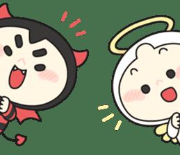 Cute Angel N Devil sticker #5254677