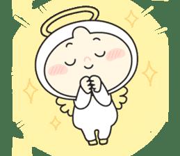 Cute Angel N Devil sticker #5254681