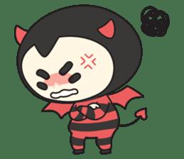 Cute Angel N Devil sticker #5254687