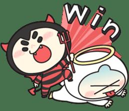Cute Angel N Devil sticker #5254692