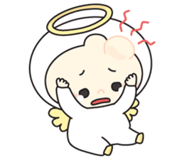 Cute Angel N Devil sticker #5254695
