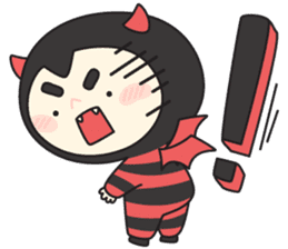 Cute Angel N Devil sticker #5254696