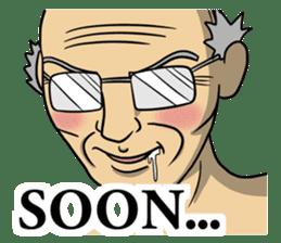 The unknown man 2 ( english ) sticker #5257932