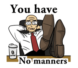 The unknown man 2 ( english ) sticker #5257950