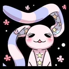Bedhead rabbit. Doodling life.