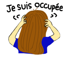 Lea French girl sticker #5261061