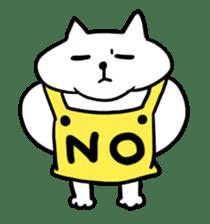 Vacant cat sticker #5264123
