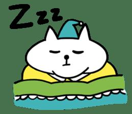 Vacant cat sticker #5264125