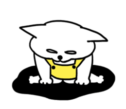 Vacant cat sticker #5264136