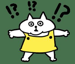 Vacant cat sticker #5264139