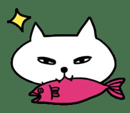 Vacant cat sticker #5264151