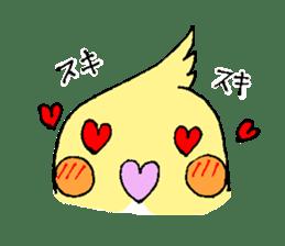 shiro parakeet sticker #5265175